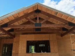 custom made decorative wood trusses