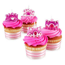Wilton 4 Set Princess Queen Party Candles Cupcakes Cake Birthday