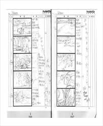 8+ Animation Storyboard – Free Sample, Example, Format Download ...