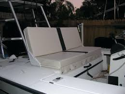 boat bench seat ranger for pontoon replacement covers with storage