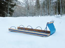 picture of easy toboggan from a plastic barrel