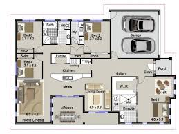 full size of dining room endearing 4 bed house plans 13 in botswana 1 story with