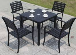 china outdoor powder coated black
