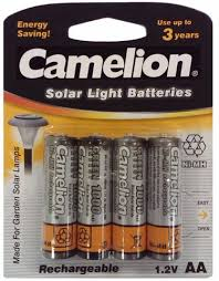 72 Off On 20 AA Rechargeable Batteries   Groupon GoodsSolar Light Batteries Aa