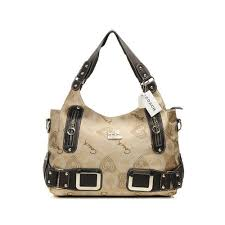 Coach Waverly In Signature Large Khaki Totes DNX