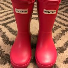 Toddler Hunter Boots Bright Pink