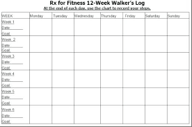12 Week Calendar Template Blank Daily Calendar With Time Slots Template 4 Week 7
