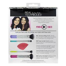 Real Techniques Limited Edition Neon Lights 36 Value Real Techniques Neon Lights Brush Set Walmart Com
