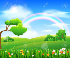 Grass and flowers background High Resolution Nature Background With Green Grass And Flowers And Blue Sky Stock Vector 49850411 123rfcom Nature Background With Green Grass And Flowers And Blue Sky Royalty