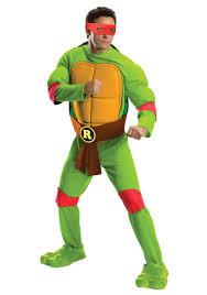 ninja turtles costumes for men. Deluxe Adult Raphael Front For Ninja Turtles Costumes Men