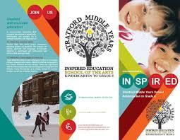 school brochure design ideas tri fold event brochure design smys tri fold brochure