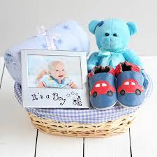 beautiful boy new baby gift basket