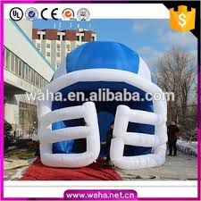 custom made football helmets tunnel inflatable helmet nfl for sale