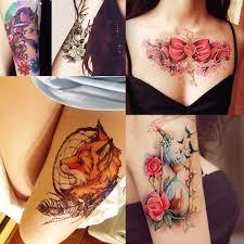 новое поступление 1 лист временная татуировка стикер Km 056 цветок боди арт