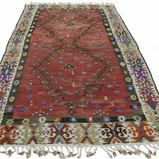 k0034196 red vintage sharkoy kilim rug kilim com the source for authentic vintage rugs kilims overdyed oriental rugs hand woven turkish rugs