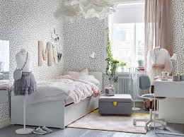 great ikea bedroom furniture white. Ikea Bedroom Furniture. Children\\u0027s With White Walls Black Spots And A Bed Great Furniture D