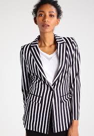 guess malila blazer black white women clothing jackets blazers black guess jacket