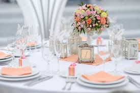 marvelous decorations for wedding tables with what to display on wedding table decoration to look romantic