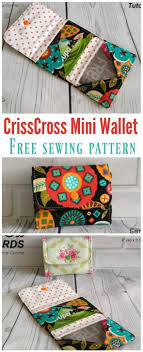 Free Wallet Sewing Pattern Cool Design Ideas