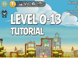Angry Birds Tutorial Level 0-13 Walkthrough