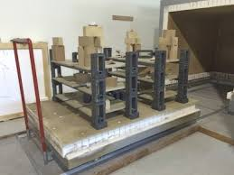 in order to fire efficiently and safely you need kiln furniture and kiln shelves of the highest quality blaauw kilns is happy to advise and assist you on