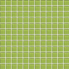 color appeal lime green 1x1 mosaic c124