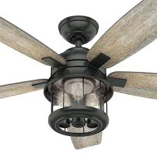 hunter kaplan led 64 ceiling fan reviews outdoor fans blade colors overhead with light at remote