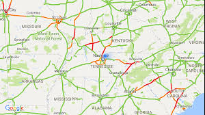 you can see the path of the eclipse in google live traffic data
