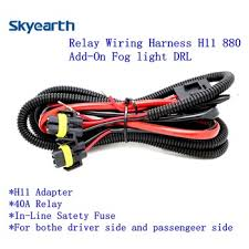 relay wiring harness for hid h11 880 conversion kit add on fog subaru conversion wiring harness relay wiring harness for hid h11 880 conversion kit add on fog lights drl h9