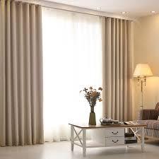 living room high grade modern curtains solid color linen window screening soundproof perfect design on how