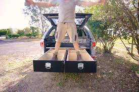 diy truck bed drawers