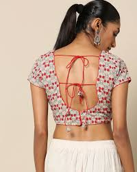 String Blouse Designs 38 Simple And Stylish Blouse Back Neck Designs Keep Me Stylish