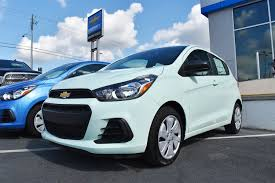 My boyfriend just got a 2017 Chevy Spark this exact color. This ...