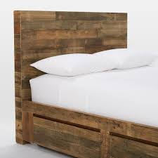 Emmerson Reclaimed Wood Storage Bed Natural west elm