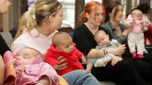 Teen mothers in poverty
