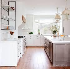 White Farmhouse Style Kitchen Traditional Home