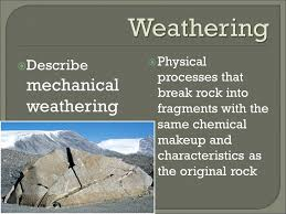 Mechanical And Chemical Weathering Venn Diagram Weathering Compare And Contrast Mechanical And Chemical