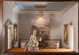 some of the items in the house were purchased from dolls house furniture makers and