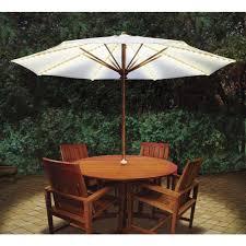 Blue Patio Umbrella With Lights Blue Star Group Brella Lights Patio Umbrella Lighting System