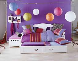 bedroom ideas for girls purple. Lamps For Teenage And Cool Girl With Decoration Inspirations Pictures Finest Cute Room Decorating Ideas Girls Purple Accent Wall Color Completed By Queen Bedroom