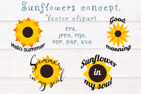 See the presented collection for sunflower svg. 0 Sunflower Elements Designs Graphics