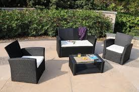 the wicker patio furniture