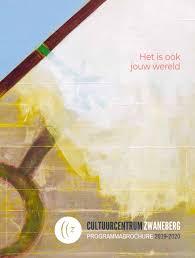 Programmabrochure 2019 2020 By Cc Zwaneberg Issuu