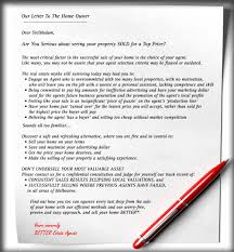 Better Estate Agents A Letter To The Home Owner