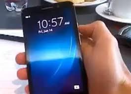 big BlackBerry A10 phone