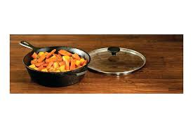 lodge cast iron lid skillet with glass hot on top stove deep cover cm lit depth