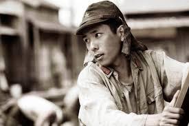 KAZUNARI NINOMIYA as Saigo in Warner Bros and DreamWorks World War II drama Letters from Iwo Jima directed by Clint Eastwood by Merie W Wallace SMPSP 24