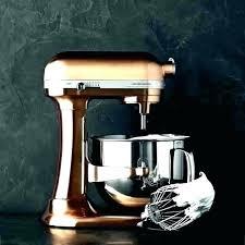 copper kitchen aid mixer kitchenaid bowl liner artisan pearl