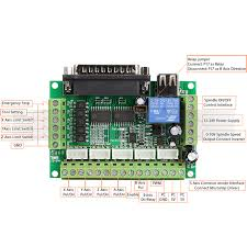 axis cnc breakout board interface for stepper motor driver st v 5 axis cnc breakout board interface for stepper motor driver st v2