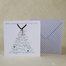 Creative Christmas Cards Handmade Christmas Card Creative Alloy Crutches Design Happy New